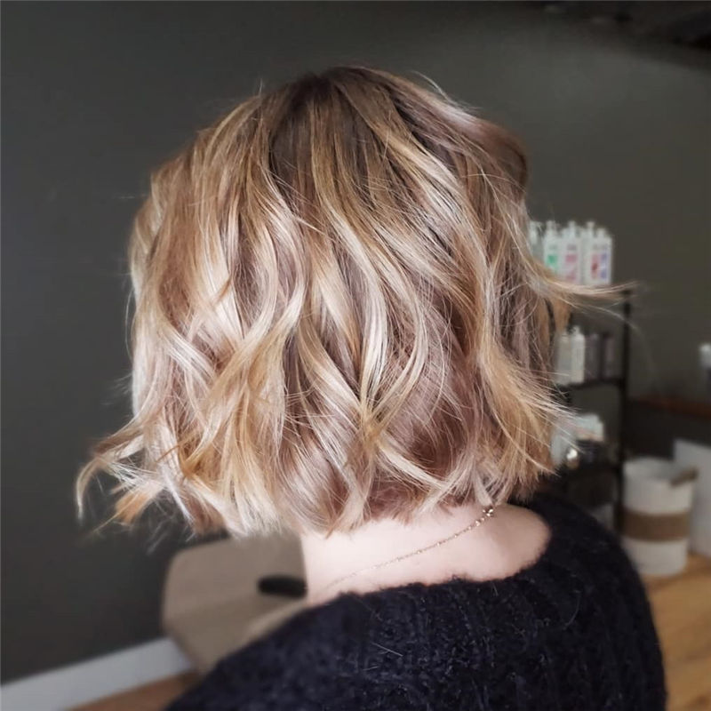Most Trendy and Terrific Bob Haircuts for Charming Look-61