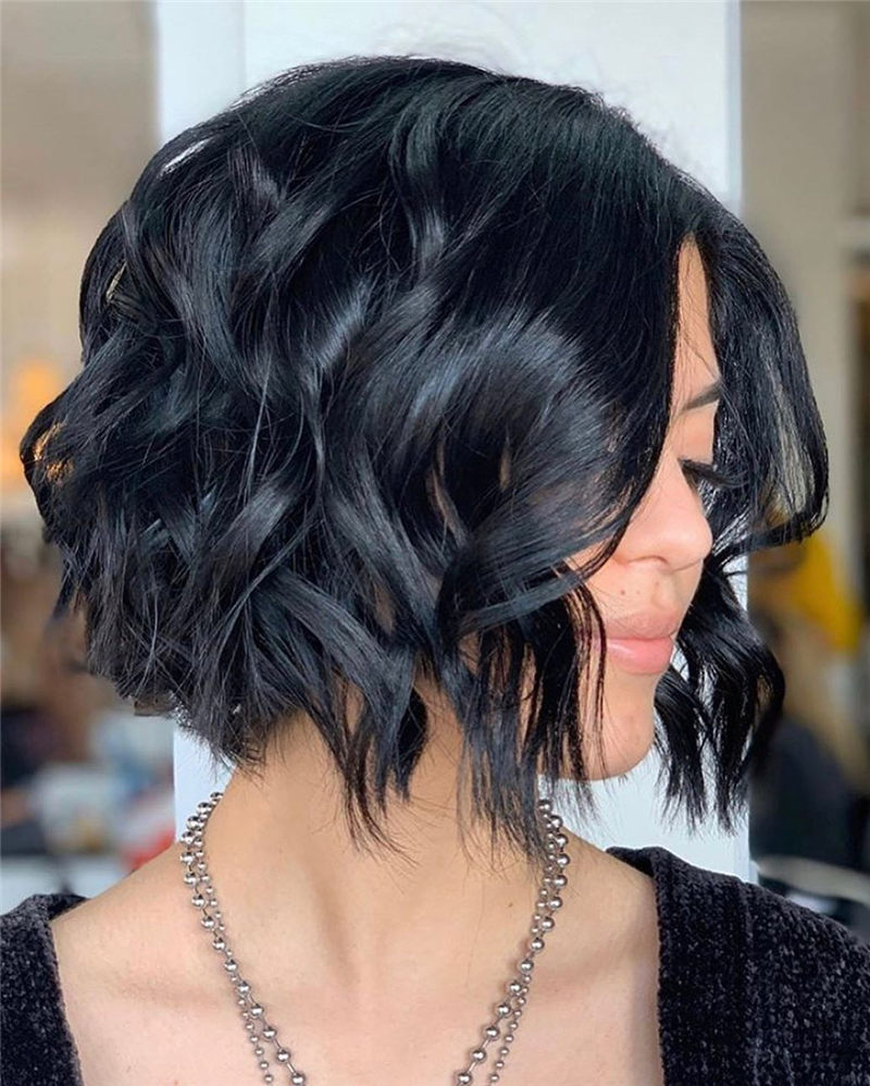 Perfect Short Bob Haircuts Ideas to Build Your Own-04