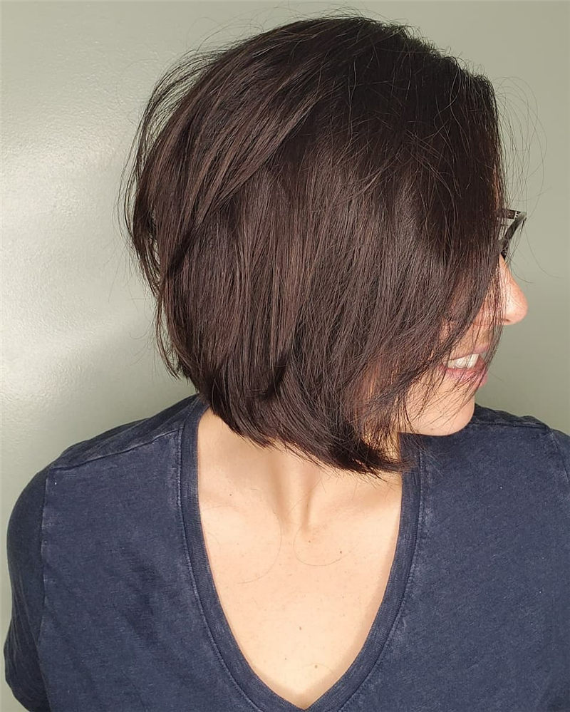 Perfect Short Bob Haircuts Ideas to Build Your Own-09