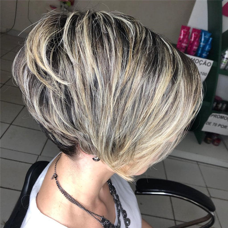 Perfect Short Bob Haircuts Ideas to Build Your Own-10