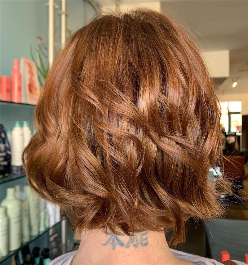 Perfect Short Bob Haircuts Ideas to Build Your Own-12