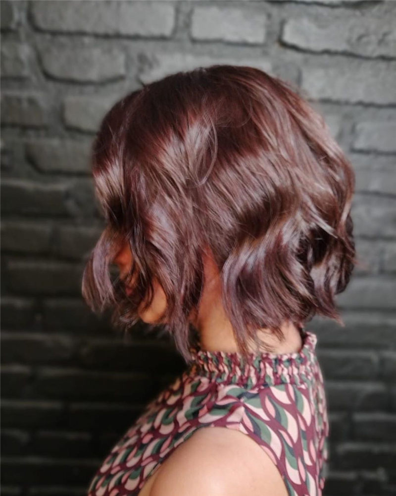 Perfect Short Bob Haircuts Ideas to Build Your Own-24