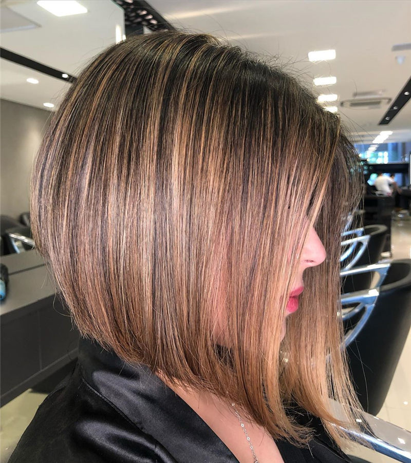 Perfect Short Bob Haircuts Ideas to Build Your Own-25