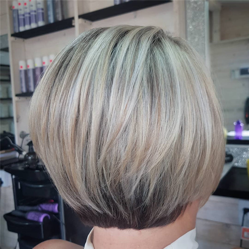 Perfect Short Bob Haircuts Ideas to Build Your Own-27