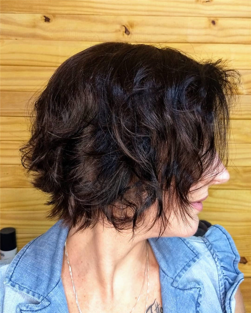 Perfect Short Bob Haircuts Ideas to Build Your Own-28