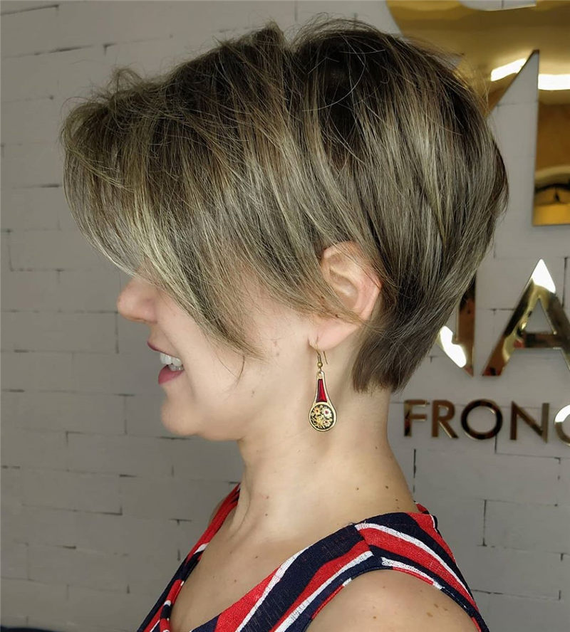 Perfect Short Bob Haircuts Ideas to Build Your Own-33