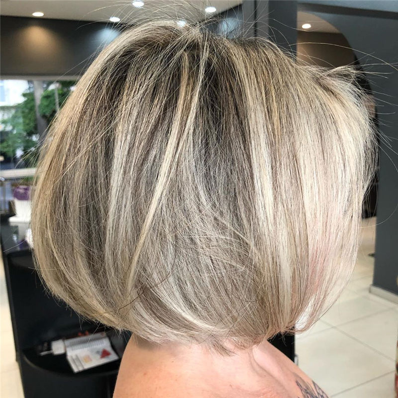 Perfect Short Bob Haircuts Ideas to Build Your Own-34