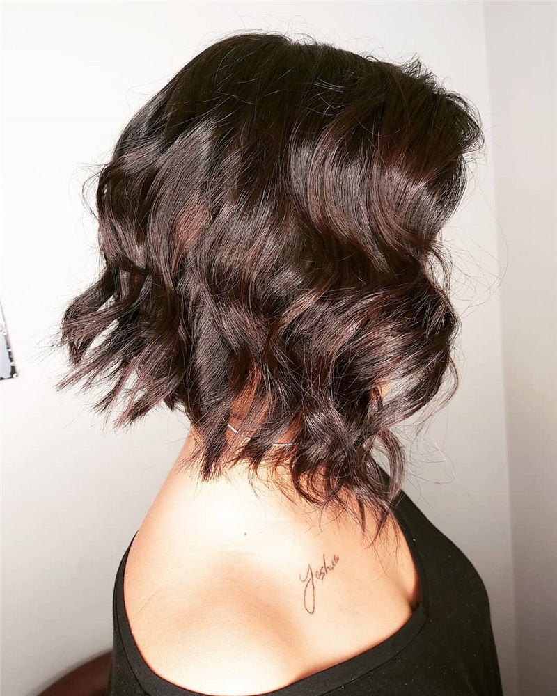 Perfect Short Bob Haircuts Ideas to Build Your Own-35