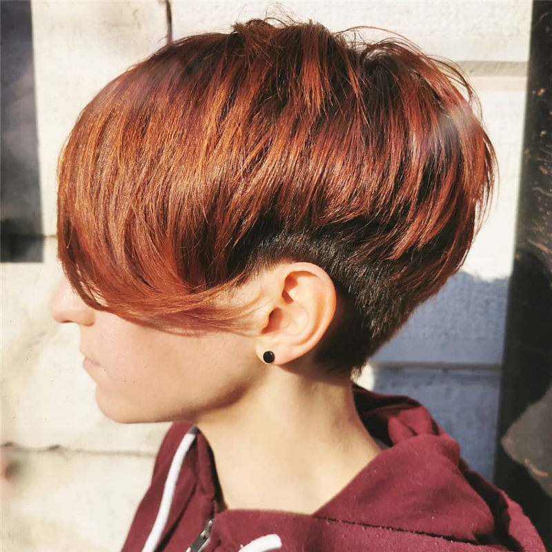 Perfect Short Bob Haircuts Ideas to Build Your Own-37