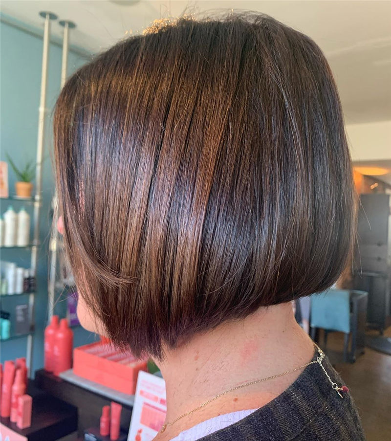 Perfect Short Bob Haircuts Ideas to Build Your Own-40