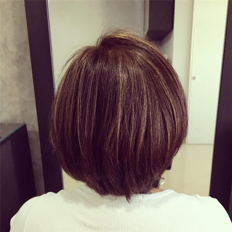 Perfect Short Bob Haircuts Ideas to Build Your Own-43