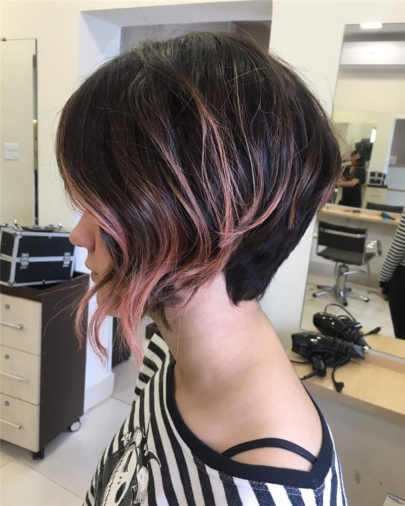 Perfect Short Bob Haircuts Ideas to Build Your Own-46