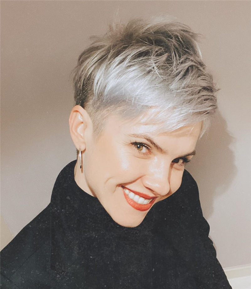 39 Really Popular Short Grey Haircuts To Look Stylish Page 12 Of 39 Hairstylezonex