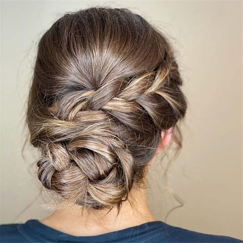 Trendiest Updo Hairstyles for Long, Medium Hair-20