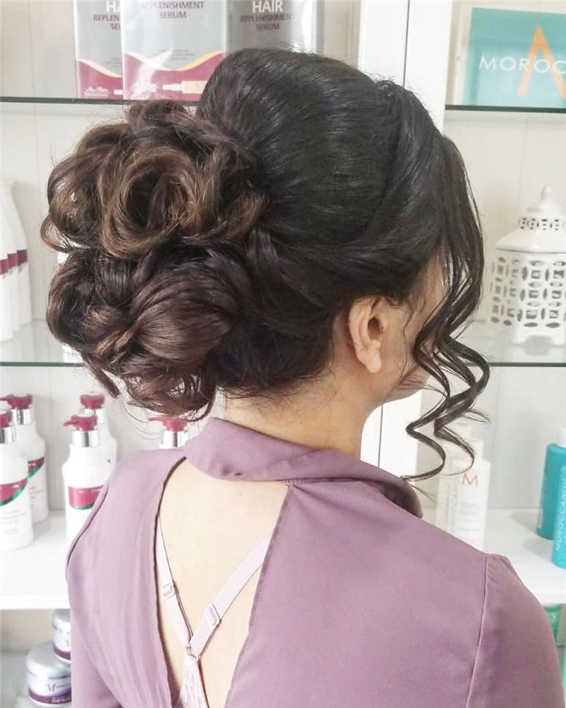 Trendiest Updo Hairstyles for Long, Medium Hair-41