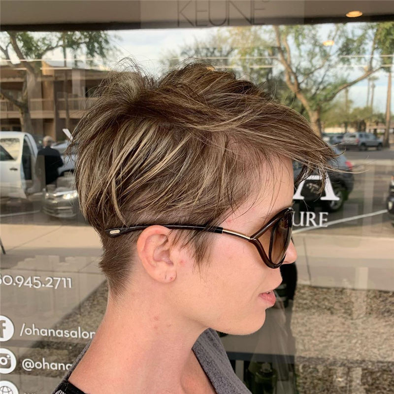 Best Pixie Haircuts for Women to Look Gorgeous 2020 25
