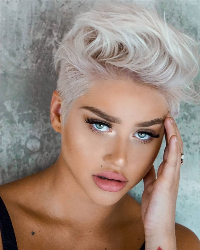 Best Pixie Haircuts for Women to Look Gorgeous 2020 30