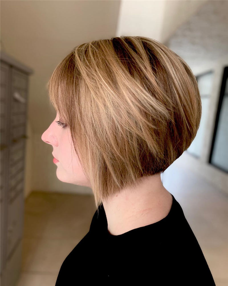 Best Short Bob Haircuts That Can Make You Looks Cute 32
