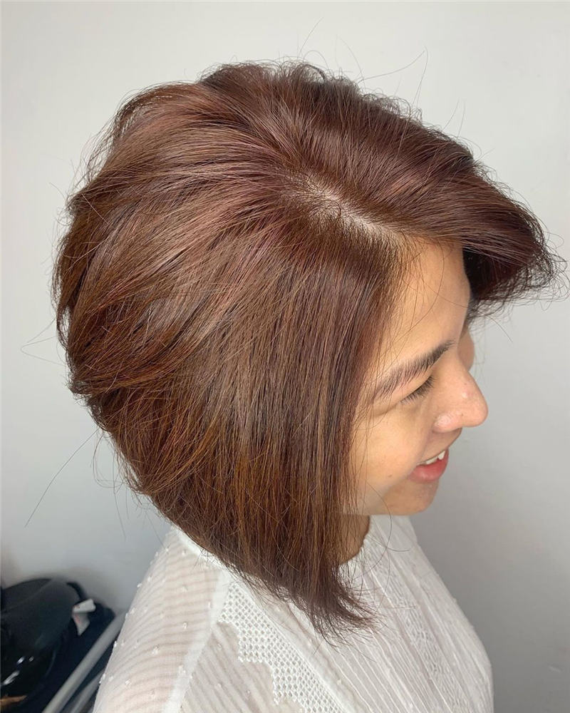 Best Short Bob Haircuts That Can Make You Looks Cute 37