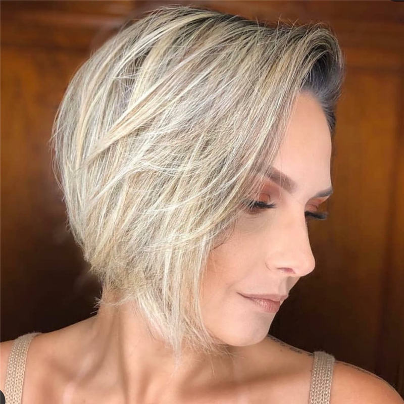 Best Short Bob Haircuts That Can Make You Looks Cute 46