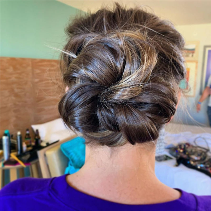 Best Updo Hairstyles to Look Fabulous 2020 02