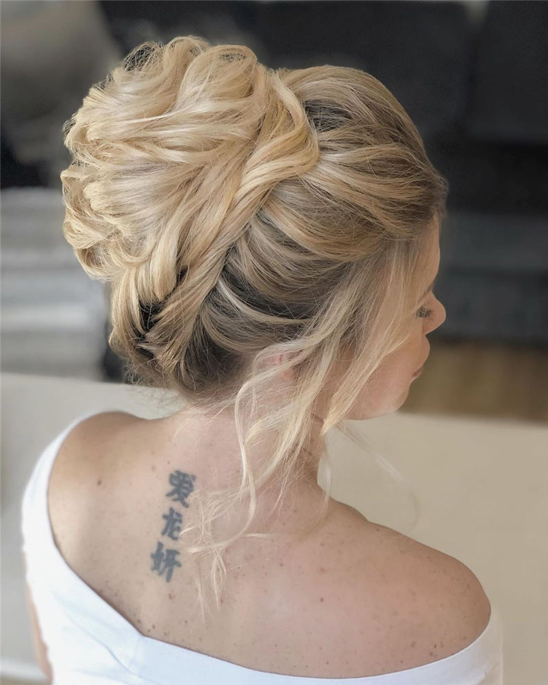 Best Updo Hairstyles to Look Fabulous 2020 12