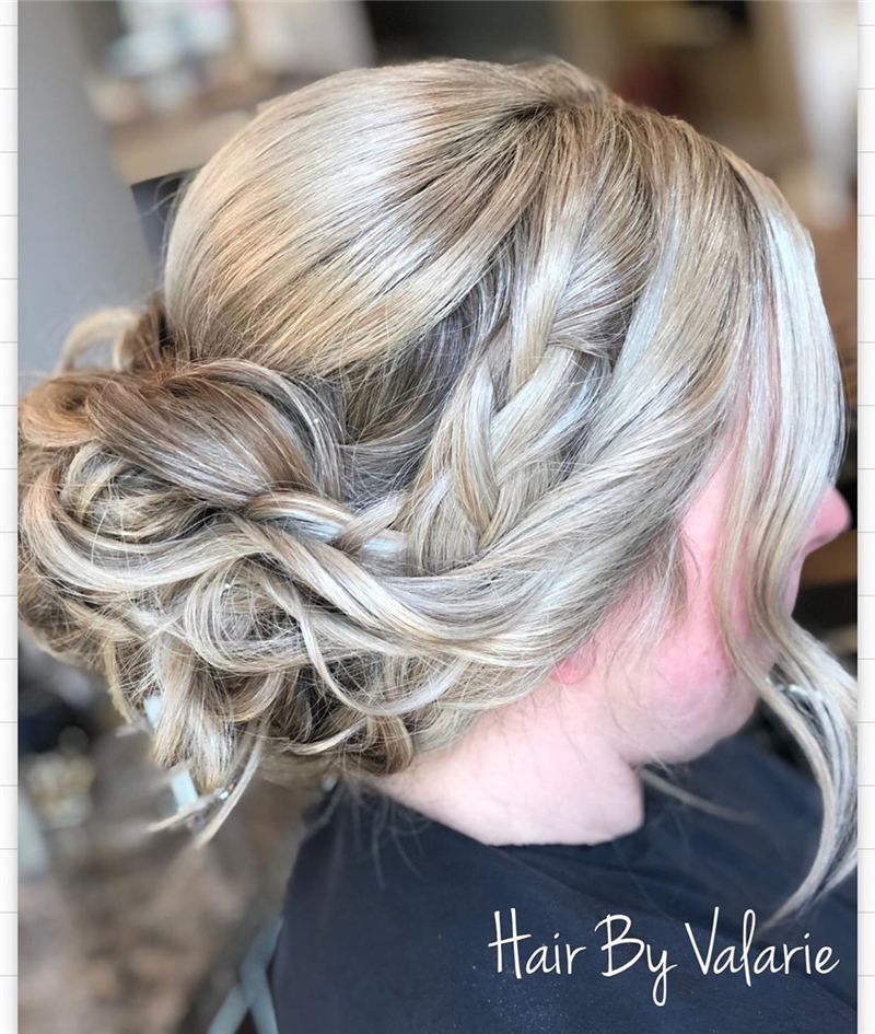 Best Updo Hairstyles to Look Fabulous 2020 26