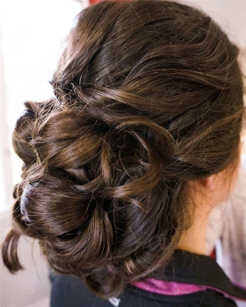 Best Updo Hairstyles to Look Fabulous 2020 27