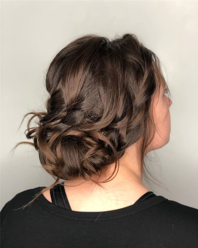 Best Updo Hairstyles to Look Fabulous 2020 30