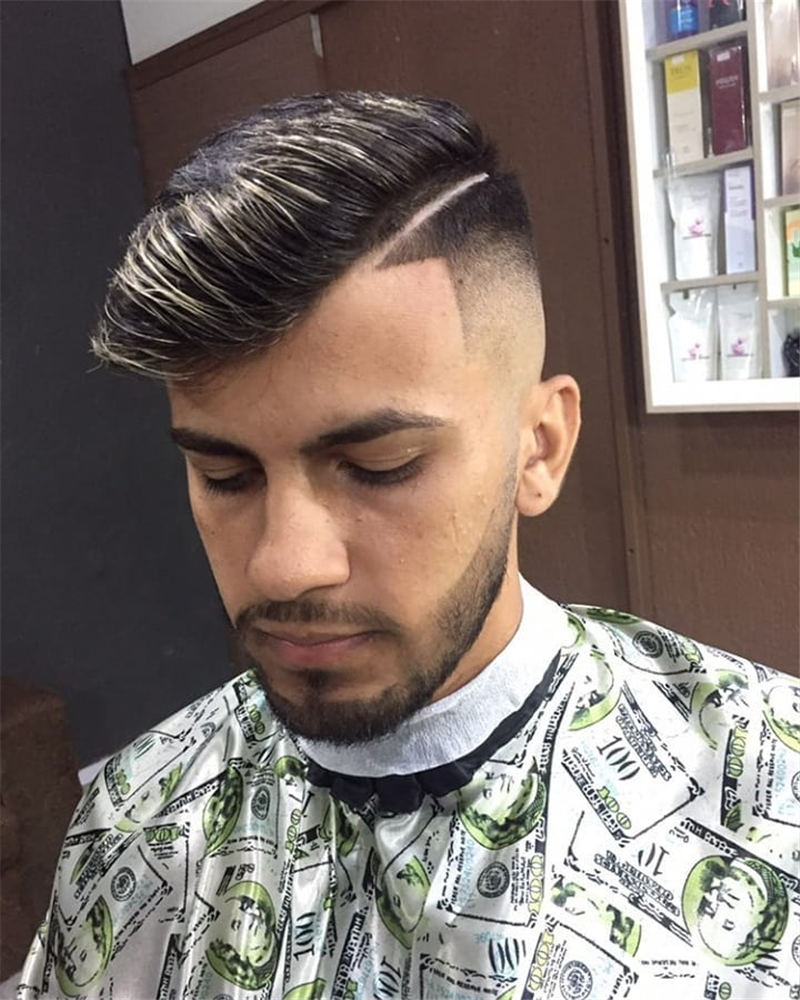 38 Cool Types of Fades Haircuts For Men - HAIRSTYLE ZONE X