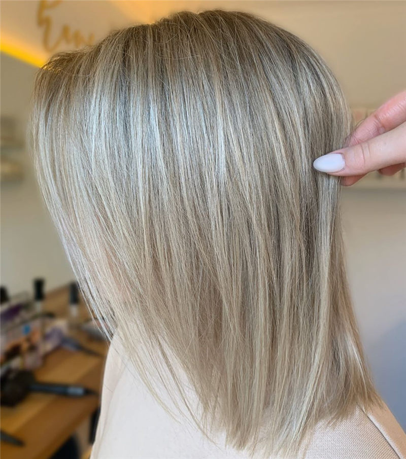 Coolest Medium Haircuts for Women That Are Great 18