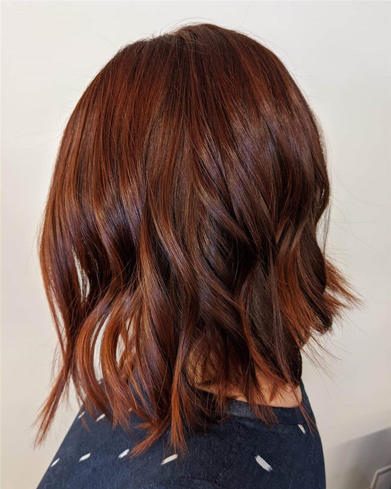 Coolest Medium Haircuts for Women That Are Great 42