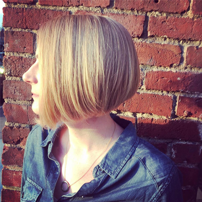 Cute Short Bob Haircuts to Copy Asap 2020 01