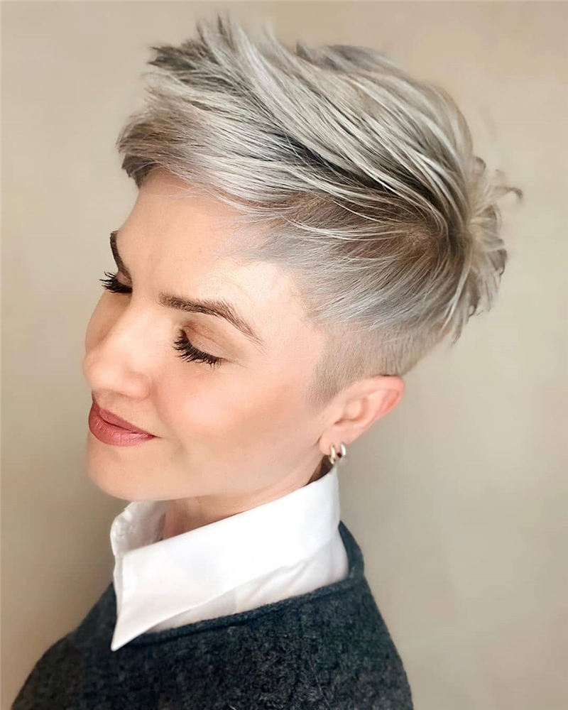 Gorgeous Short Pixie Haircuts 2020 That Makes You Pretty 26