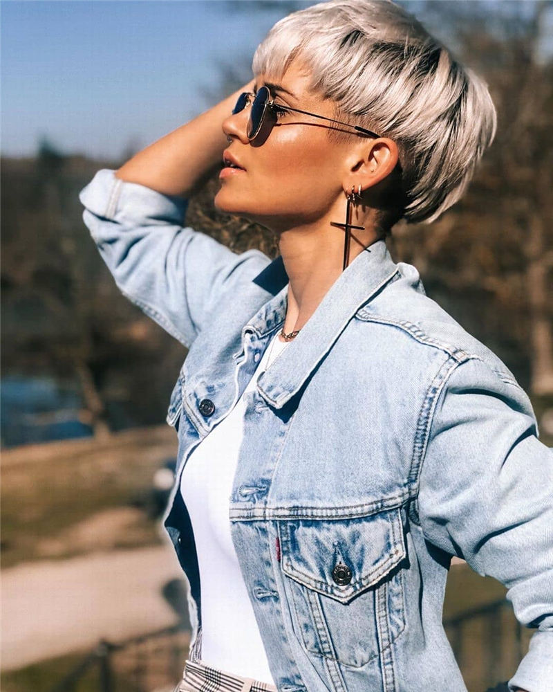 Gorgeous Short Pixie Haircuts 2020 That Makes You Pretty 36
