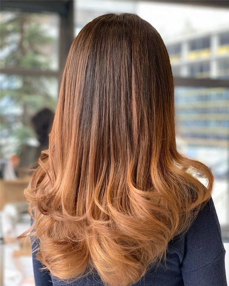 Great Brown Ombre Hair You Cant Miss This Year 10