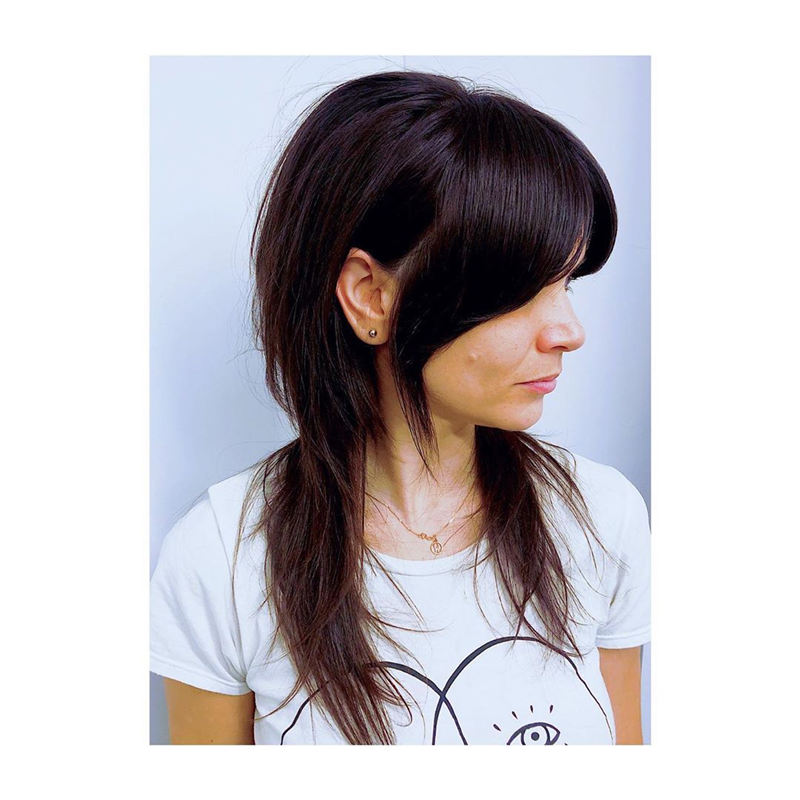 Great Hairstyles With Bardot Bangs You Will Love 01