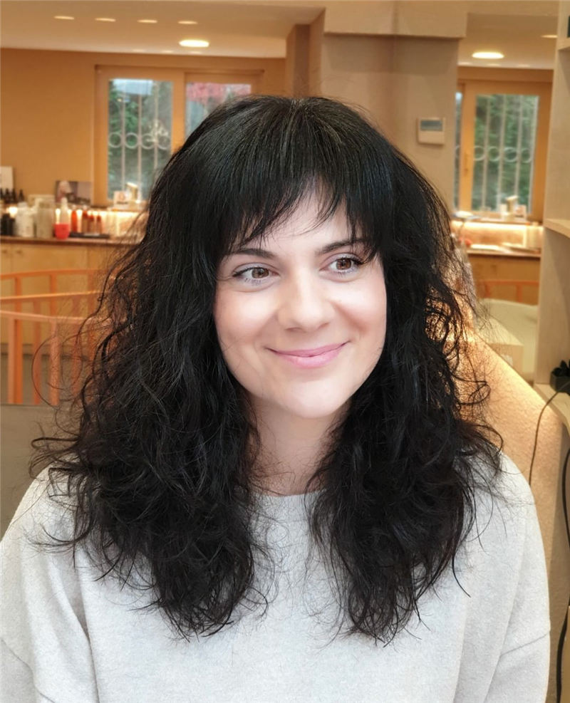 Great Hairstyles With Bardot Bangs You Will Love 04