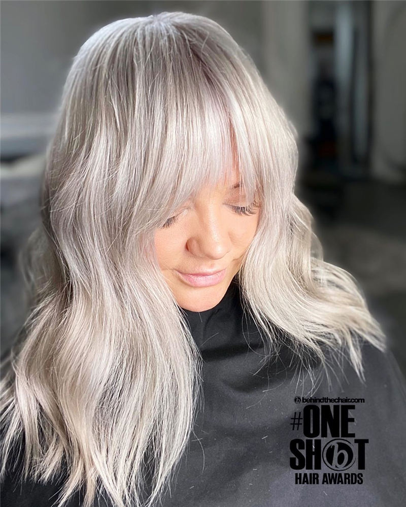 Great Hairstyles With Bardot Bangs You Will Love 18