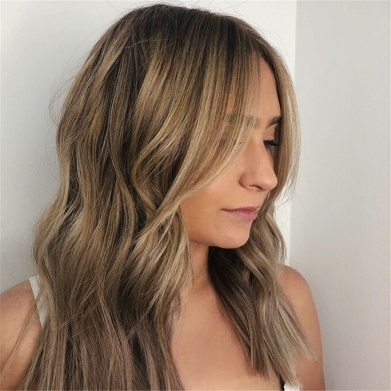 Great Hairstyles With Bardot Bangs You Will Love 45