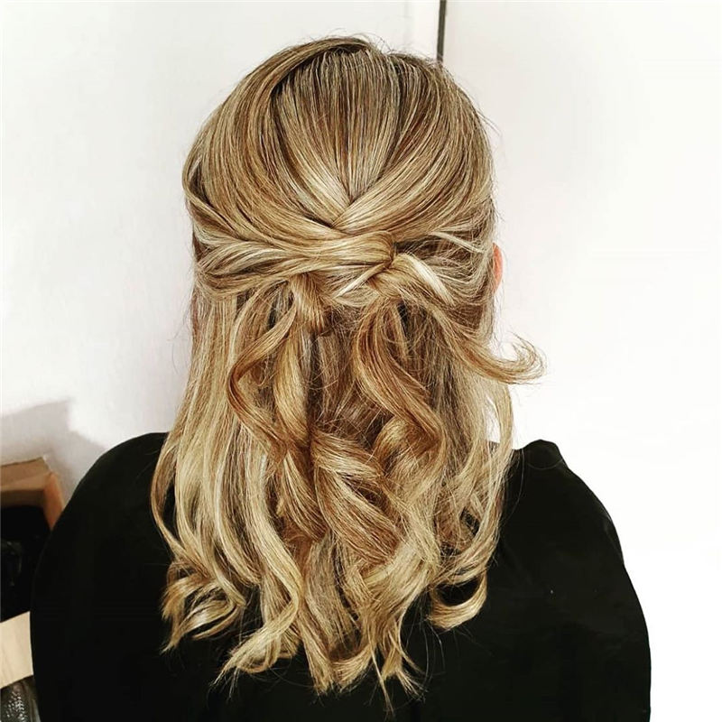 Most Adorable Wedding Hairstyles to Look Stylish for Big Day 07