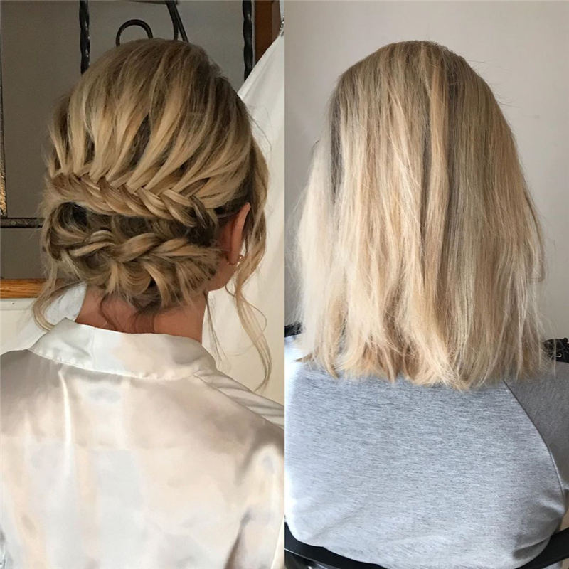 Most Adorable Wedding Hairstyles to Look Stylish for Big Day 08