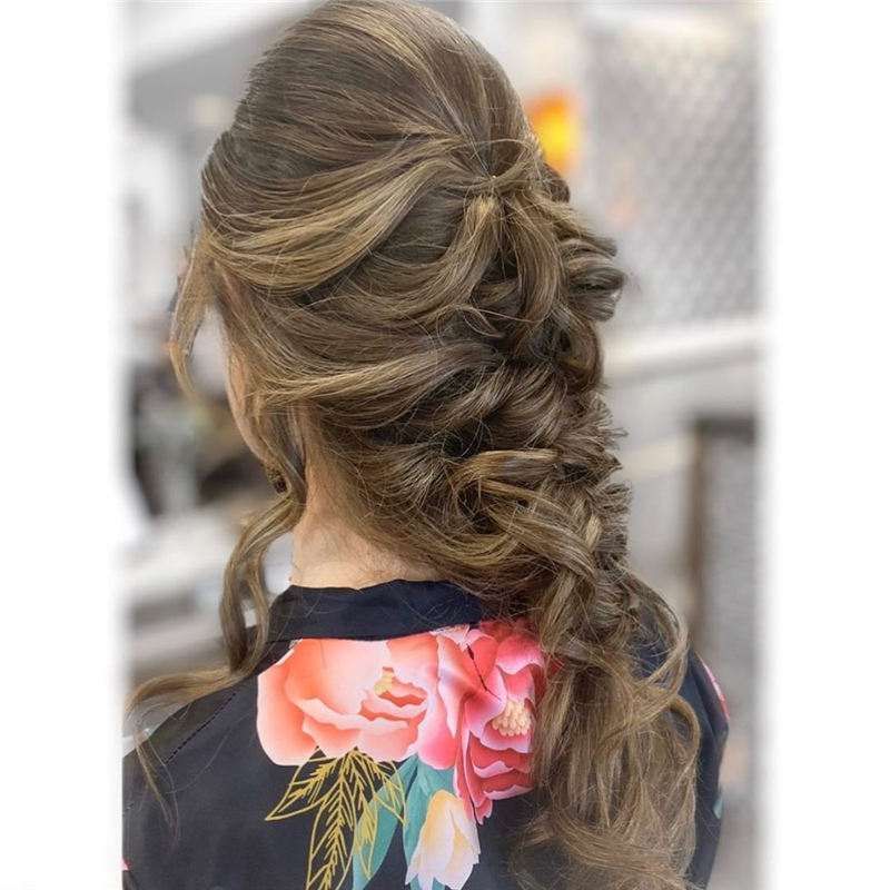 Most Adorable Wedding Hairstyles to Look Stylish for Big Day 10