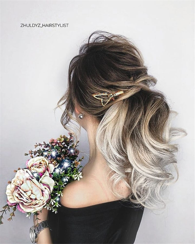Most Adorable Wedding Hairstyles to Look Stylish for Big Day 39