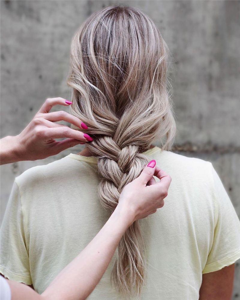 Most Popular Braide Hairstyles We Love 22