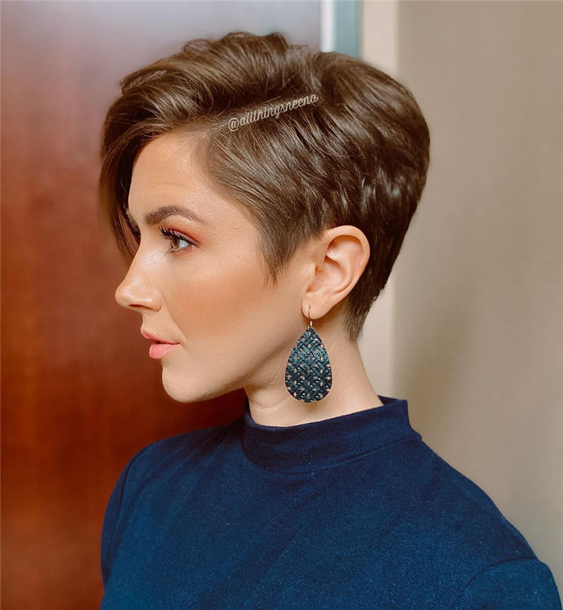 Most Repinned Short Hairstyles You Should Try 2020 04