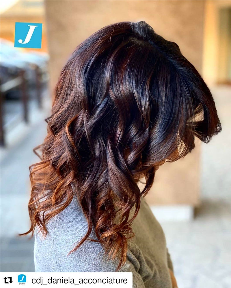 New Best Medium Length Hairstyles to Look Beautiful 20