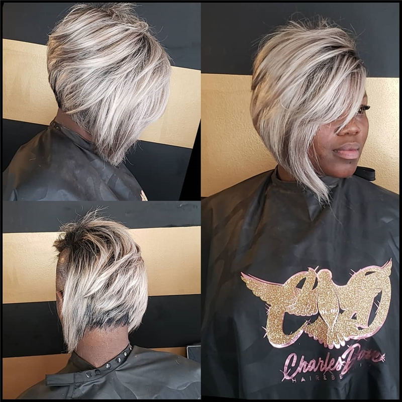 Pretty Short Grey Haircuts You Should Try Now 05