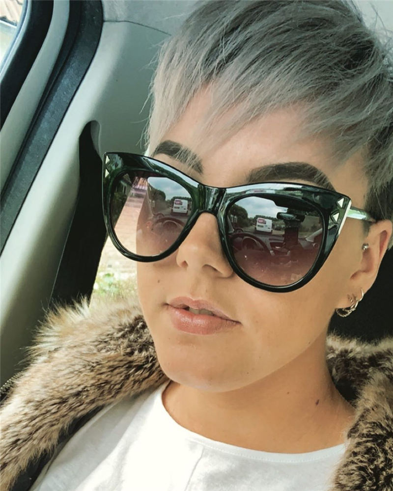 Pretty Short Grey Haircuts You Should Try Now 21