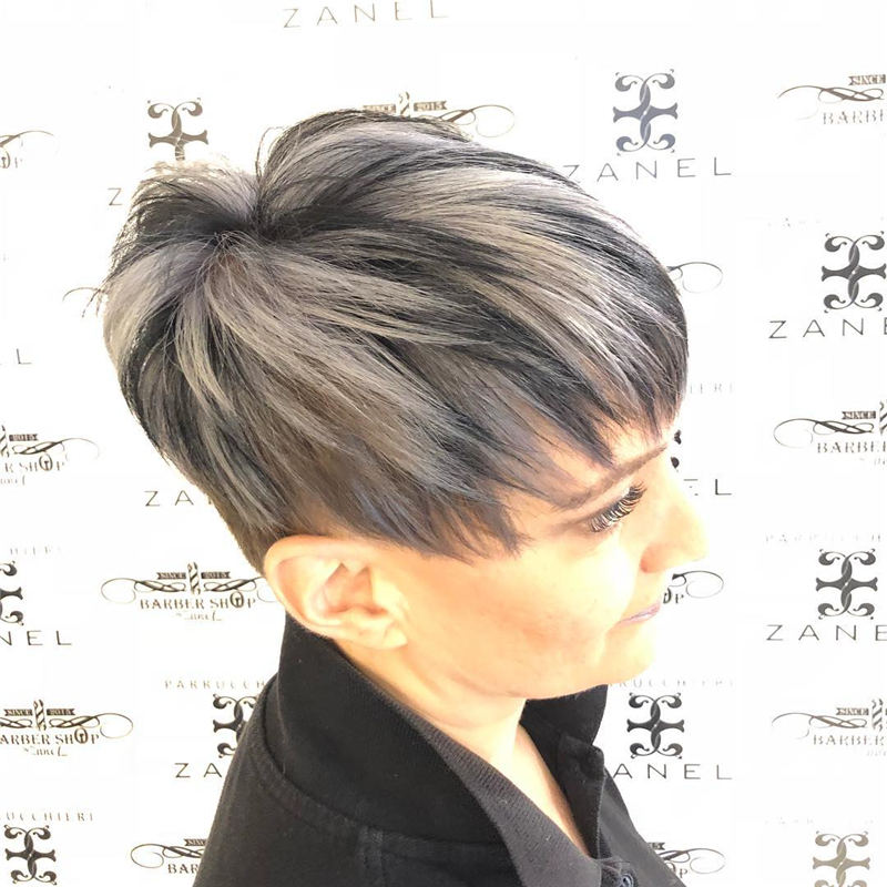 Pretty Short Grey Haircuts You Should Try Now 36